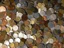 Монеты иностранные - на килограммы - комплект 1 кг