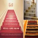 Dekoracyjne naklejki na schody, podstopnice