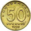 Германия DDR - монета - 50 Pfennig 1950 - ЗАВОД доставка товаров из Польши и Allegro на русском