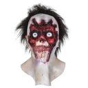 Lateksowa maska ZOMBIE KISS potwór HALLOWEEN