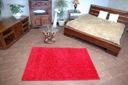 DYWAN SHAGGY 70x70 bordo 5cm jednolity miękki Kolor odcienie czerwieni