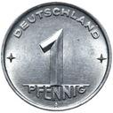(Германия DDR - монета - 1 Pfennig 1952 Года, А - БЕРЛИН) доставка товаров из Польши и Allegro на русском
