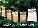АДВЕНТ календарь 24 сумки пряжки гирлянда
