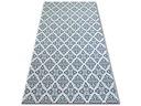 Dywan SIZAL 200x290 KWIATY biały/niebieski #B474