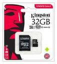 KINGSTON KARTA PAMIĘCI MICRO SD 32 GB CLASS 10 UHS Maksymalna prędkość odczytu 90 MB/s