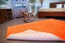 DYWAN SHAGGY 40x90 orange 5cm gładki jednolity Długość 90 cm