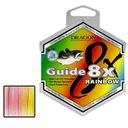 PLECIONKA DRAGON GUIDE 8X RAINBOW 0,30/250 MORSKA