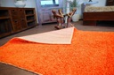 DYWAN SHAGGY 5cm 200x200 pomarańcz KAŻDY RO @10649 Kolor odcienie pomarańczowego