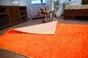DYWAN SHAGGY 5cm 80x150 pomarańcz KAŻDY ROZ @10639 Wzór jednobarwny