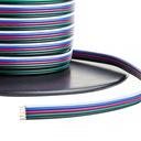 KABEL Przewód RGBW Taśma LED 5 żyły SOLIDNY 5x0,22