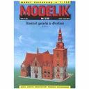 Modelik 3/00 Kościół gotycki w Gryfinie XIII 1:150