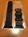 CarterJett Black Leather 42mm/Pasek skóra czarny