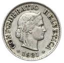 Szwajcaraia - moneta - 5 Rappen 1931