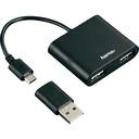 Hub USB 2.0, Hama 54140 USB 2.0, Czarny