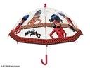 MIRACULUM BIEDRONKA głęboka transparentna parasolk