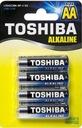 Baterie alkaliczne Toshiba LR6GCNN BP-4 SS blister