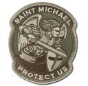 MIL-SPEC MONKEY Naszywka Saint Michael MultiCam US