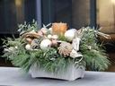KLASYKA ZIMOWĄ PORĄ stroik świąteczny świeczka