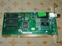Karta PC AT Sieciowa E-LAN-2000 (uszkodzona) !