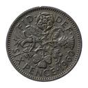 6 pensów 1960 Wielka Brytania Elżbieta II st.III