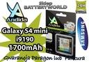BATERIA SAMSUNG i9190 S4mini 1700mA GT-i9190,i9195