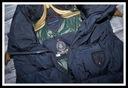 TOMMY HILFIGER pikowana kamizela PUCH logo *36*