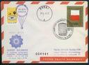 POCZTA BALONOWA SYRENA 1967 Poznan/Skoki MTP +++