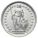 Szwajcaraia - moneta - 1 Frank 1944 - 2 - SREBRO