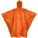 Płaszcz Przeciwdeszczowy Pomarańczowy Ponczo