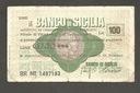 SYCYLIA  Włochy,  100 Lirów   1977 rok