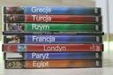 Wakacje Podróż DVD 8 film Londyn Egipt Turcja Rzym