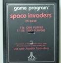 cartridge # space invaders # Atari VCS 2600