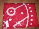 Ręcznik plażowy czerwony