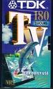Kaseta VHS TDK 180 folia DO CZĘSTYCH NAGRAŃ,nowa
