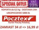 POCZTEX KOPERTA 0,5KG - Przesyłki KURIERSKIE FV23%