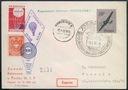 Przesyłka Balonowa 1960 r / WARSZAWA - Korzeniew