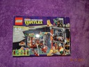 unikat kolekcjonerski LEGO TURTLES 79103 KOMPLET