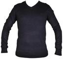 LEE sweter meski NAVY regular ls V-NECK KNIT S r36