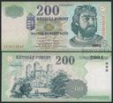 MAX - WĘGRY 200 Forintów 1998 r. # XF