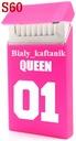 Silikonowe etui na paczkę papierosów SLIM Queen R