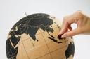 Korkowy globus PREZENT PODRÓŻNIKA ORYGINALNY