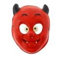 Maska z pianki Radosny Diabełek plastikowe