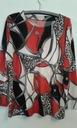 Piękna Tunika wzór 65% bawełna 46