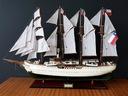 Drewniany Model Statku Replika Esmeralda