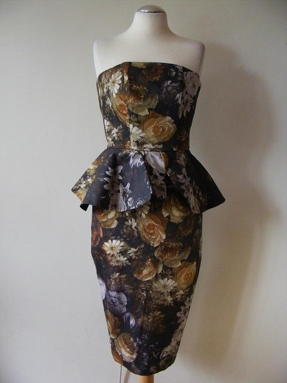 4525862cdbf Я приглашаю вас купить элегантное платье в приглушенных тонах без лямок