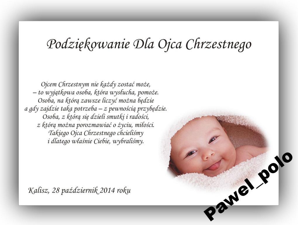 Zaproszenia Na Chrzest Chrzciny Foto 4gratis Ramka 7019500337