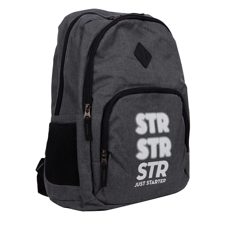 077cbc5c7474f Starter plecak szkolny melanż port USB 0081 7446334581 - Allegro.pl