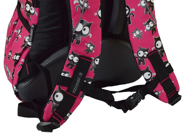 eff40de871c0 Рюкзак школьный с мотивом решетки для модной девочки - предназначена для  1-4 классов начальной школы