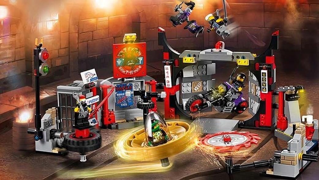 Lego Figurka At At Ultra Violet Maska Oni At At Z 70640 7586812047