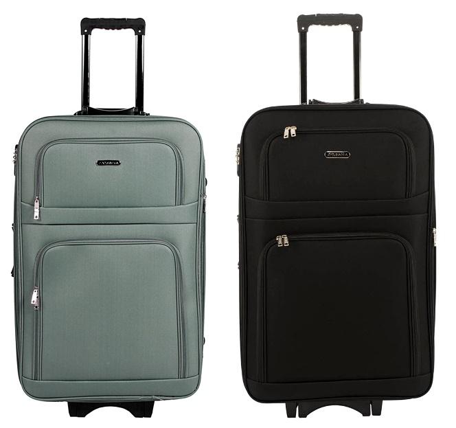 97ae70723fd1c Produkt testowany na szarpnięcia rączką oraz na zamykanie i otwieranie  zamka co sprawia że walizki są właściwie bez awaryjne i nie ulegają  uszkodzeniu po ...